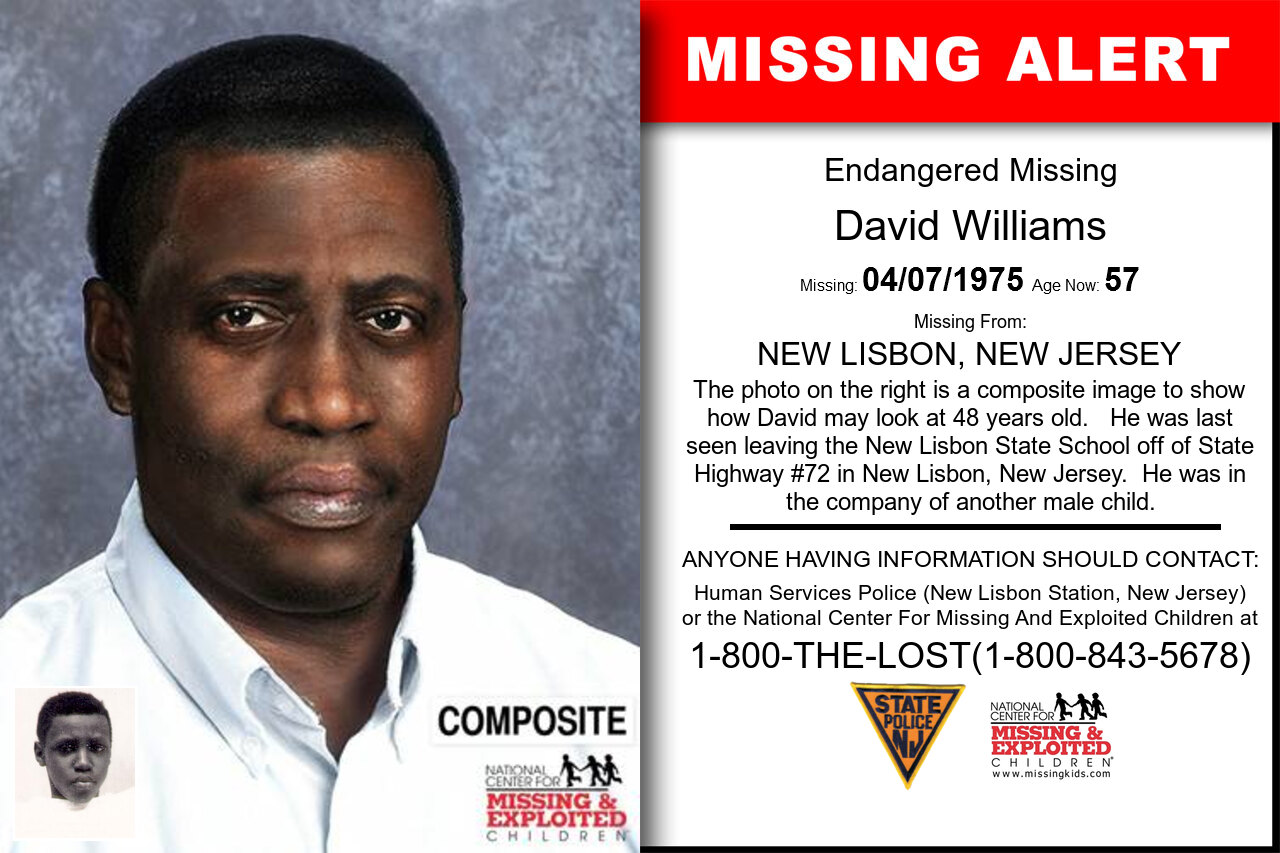 David_Williams missing in New_Jersey