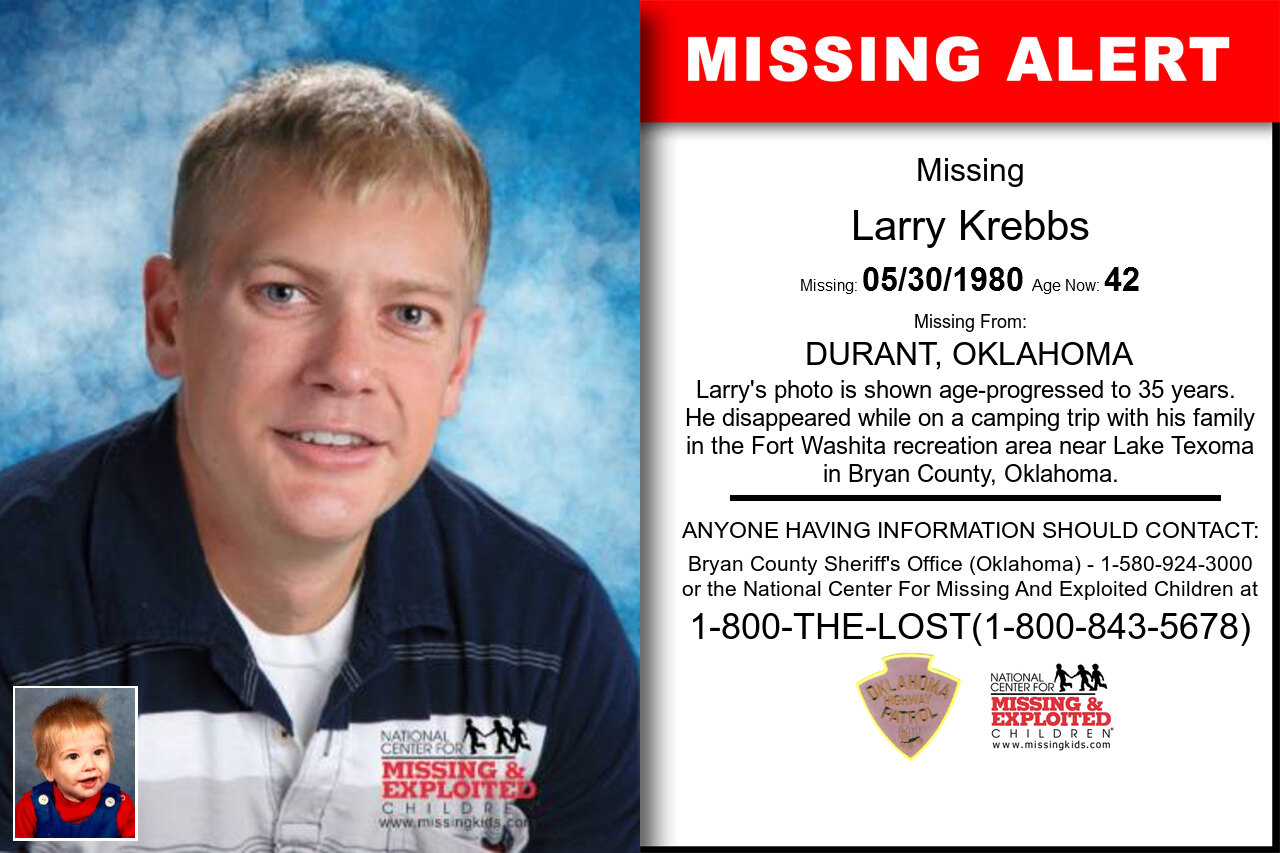 LARRY_KREBBS missing in Oklahoma