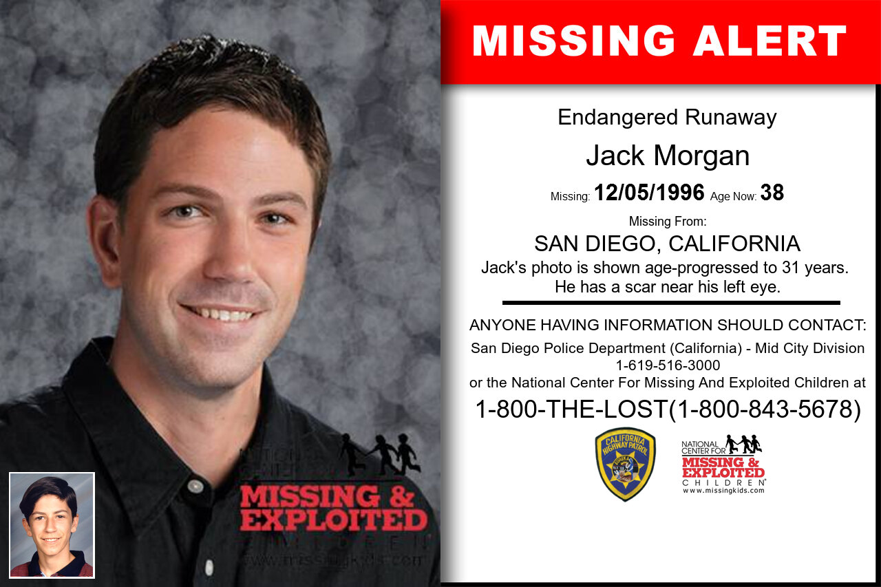 Jack_Morgan missing in California