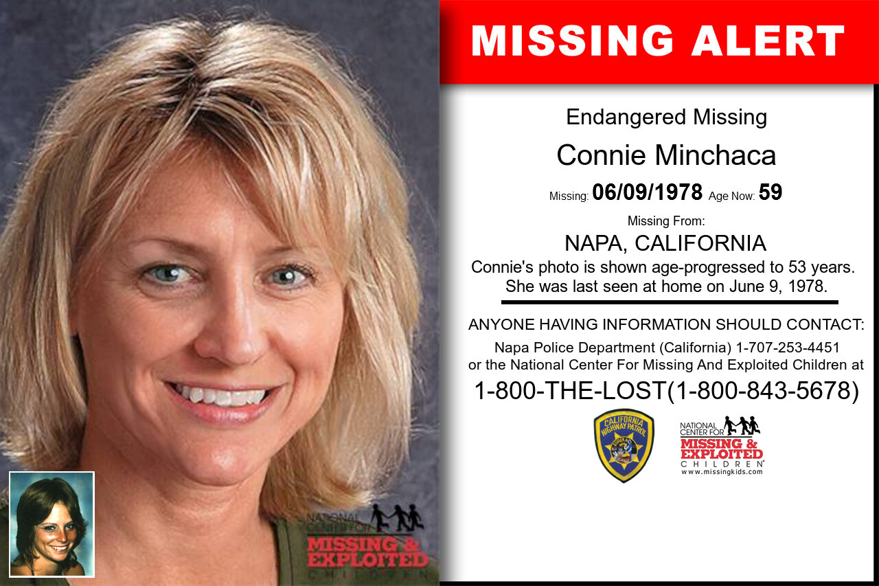 Connie_Minchaca missing in California