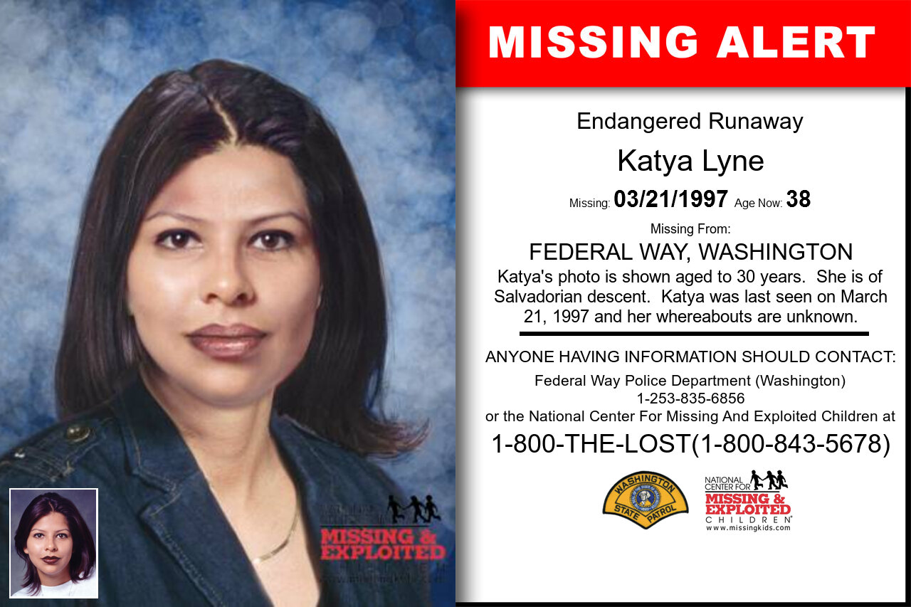 KATYA_LYNE missing in Washington