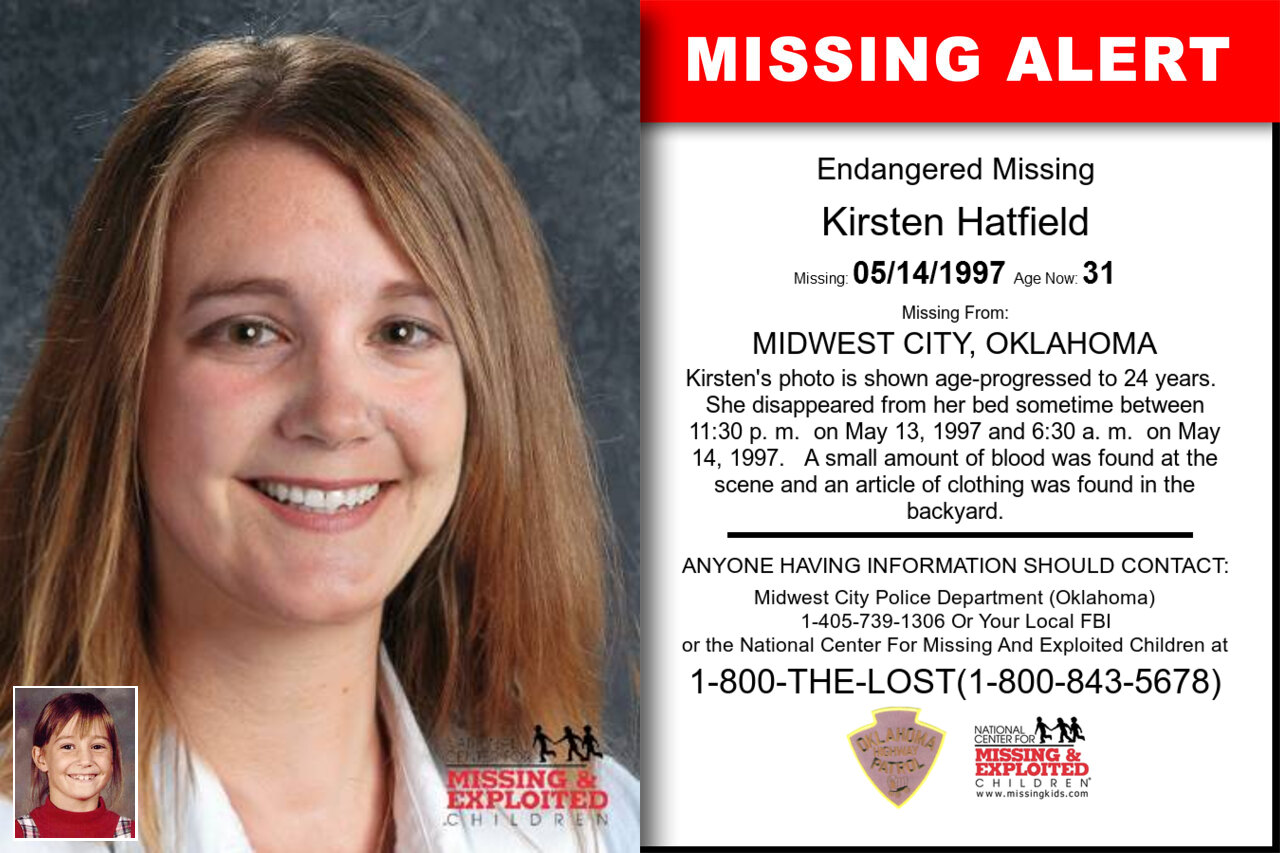 Kirsten_Hatfield missing in Oklahoma