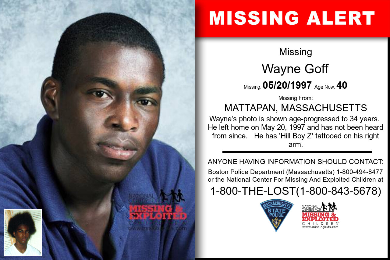 WAYNE_GOFF missing in Massachusetts