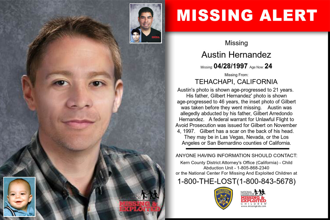 Austin_Hernandez missing in California