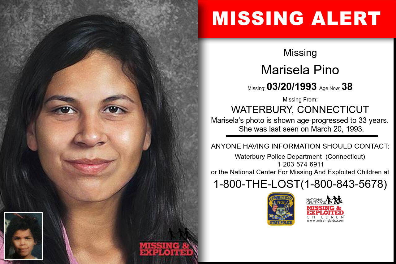 Marisela_Pino missing in Connecticut