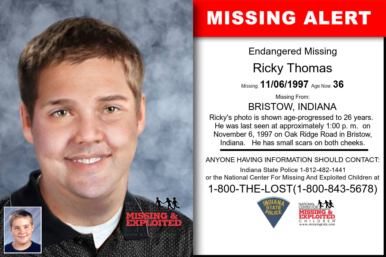 RICKY_THOMAS missing in Indiana