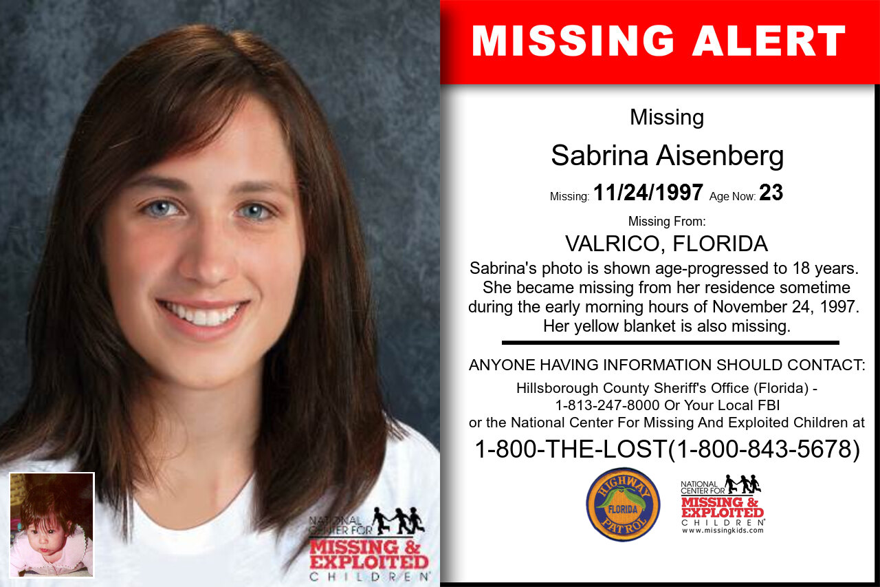 SABRINA_AISENBERG missing in Florida