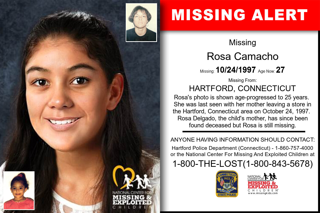 ROSA_CAMACHO missing in Connecticut