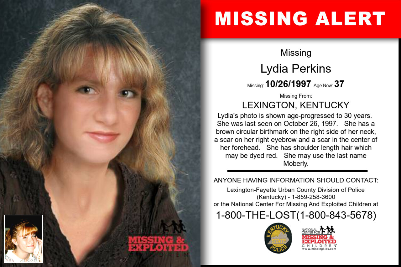 Lydia_Perkins missing in Kentucky