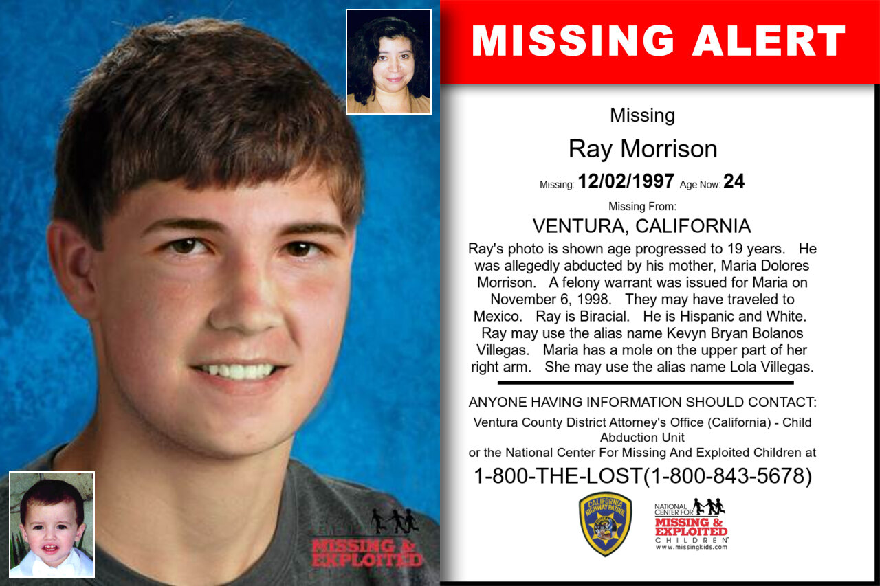 Ray_Morrison missing in California