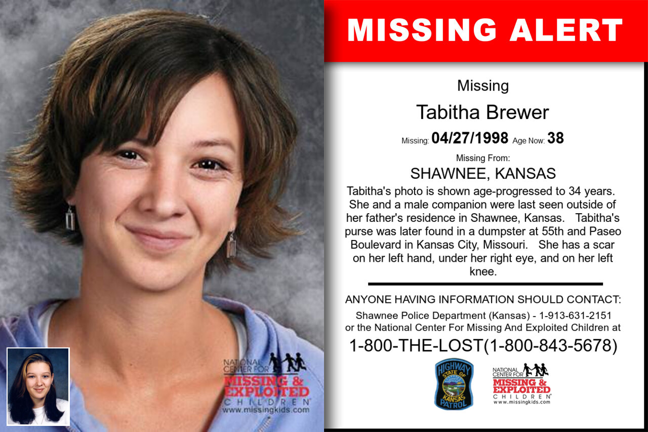 Tabitha_Brewer missing in Kansas