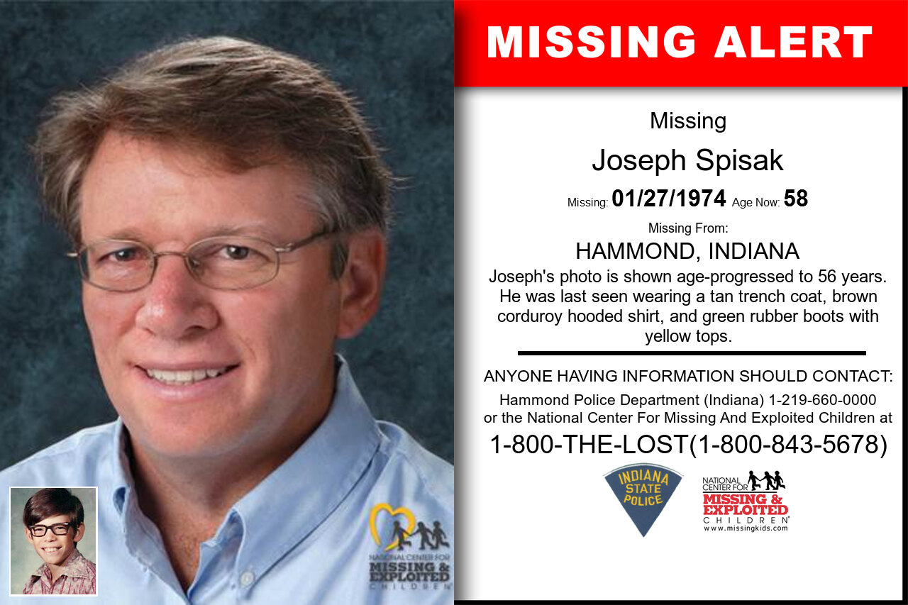 JOSEPH_SPISAK missing in Indiana