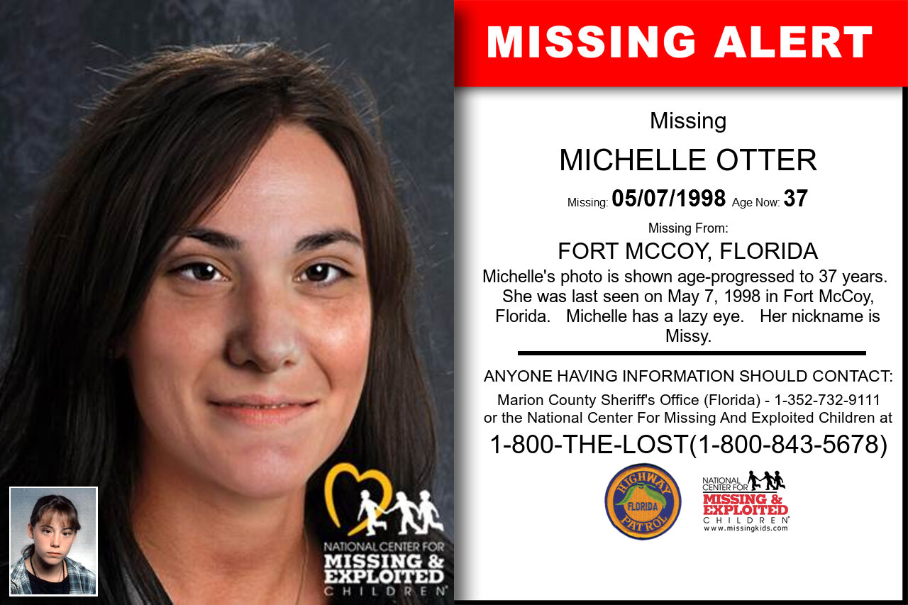 MICHELLE_OTTER missing in Florida