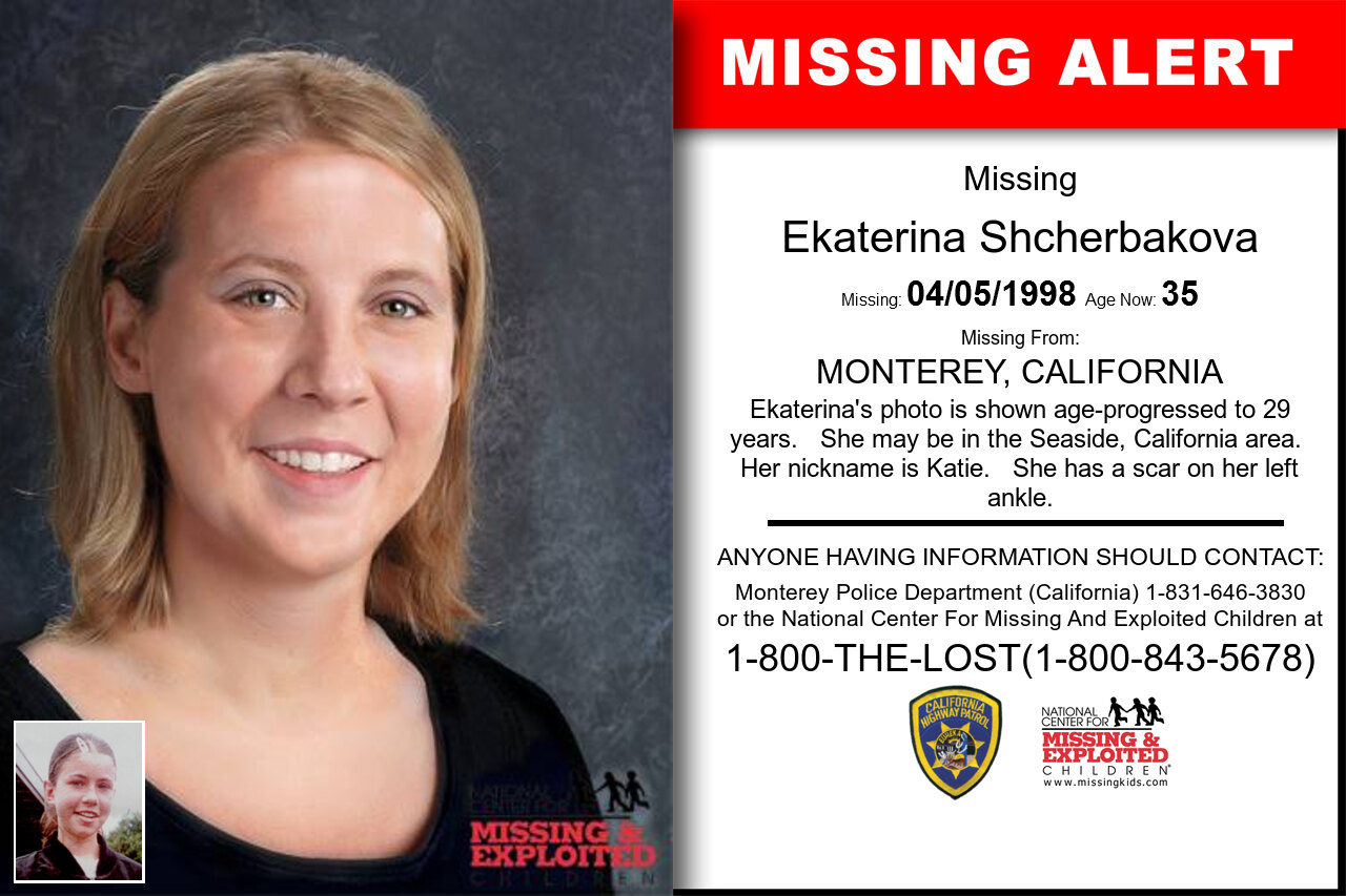 Ekaterina_Shcherbakova missing in California