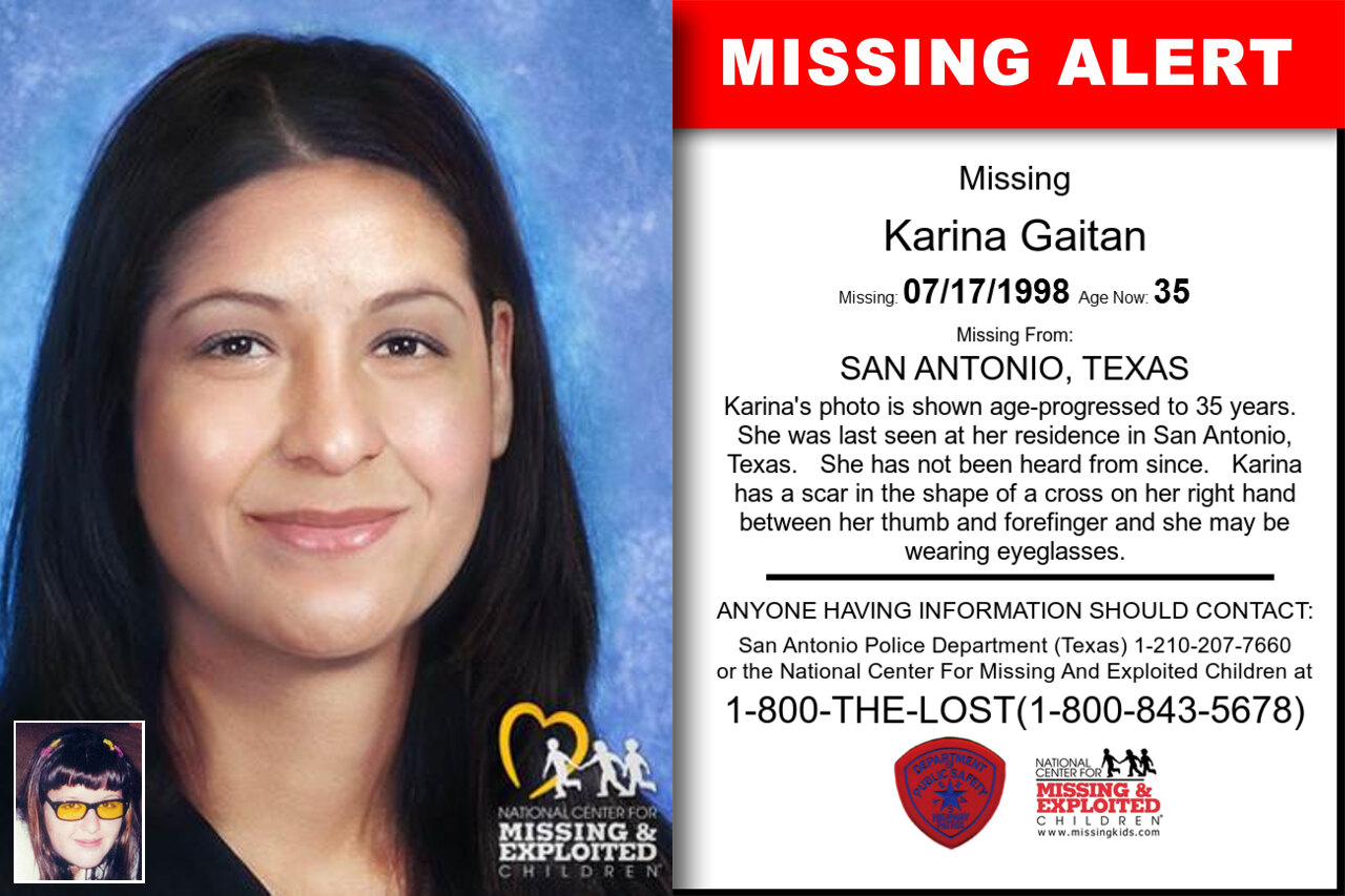 Karina_Gaitan missing in Texas