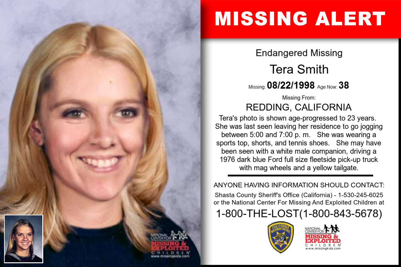 TERA_SMITH missing in California