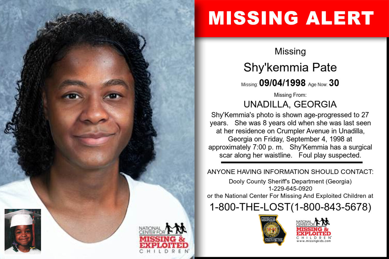SHY'KEMMIA_PATE missing in Georgia