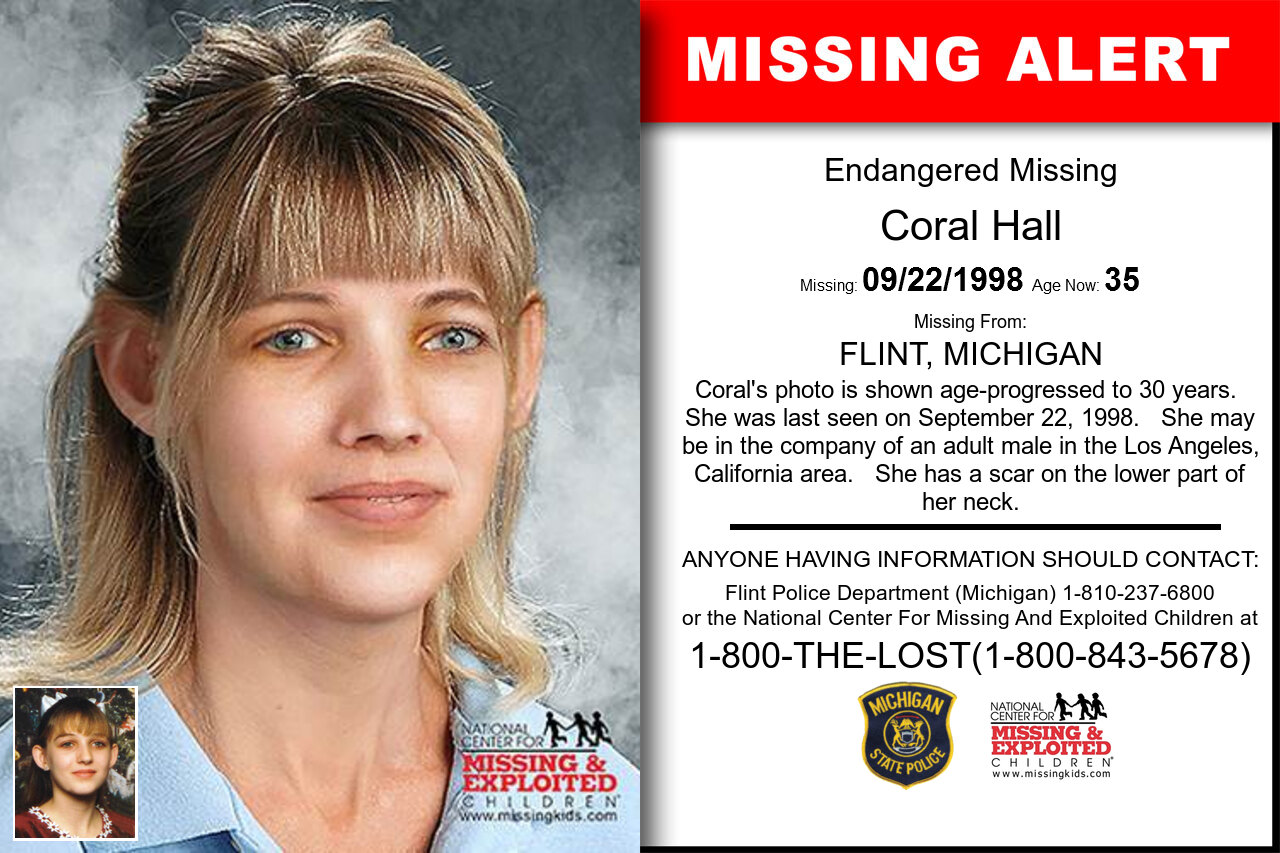 CORAL_HALL missing in Michigan
