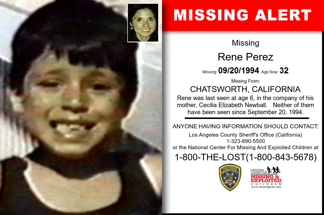 RENE_PEREZ missing in California