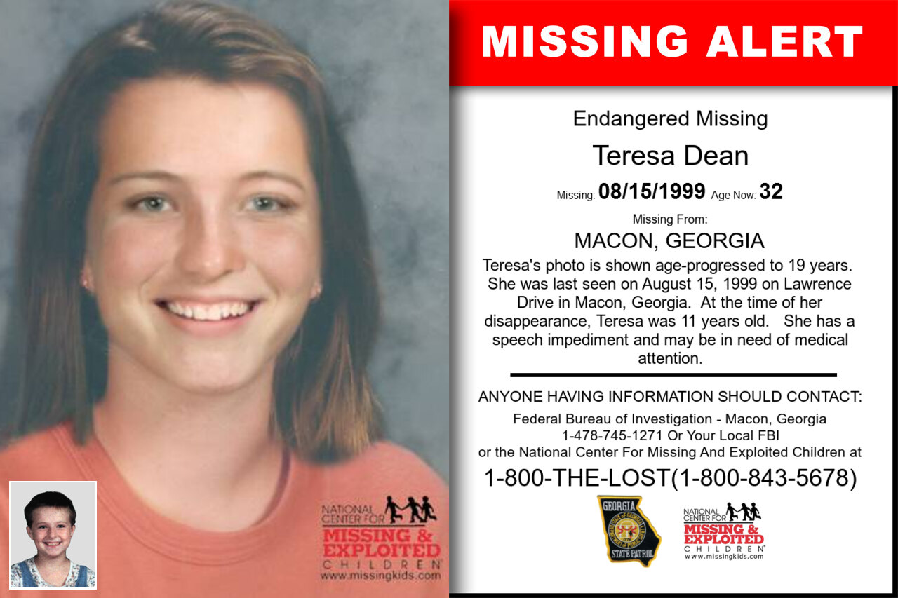 TERESA_DEAN missing in Georgia