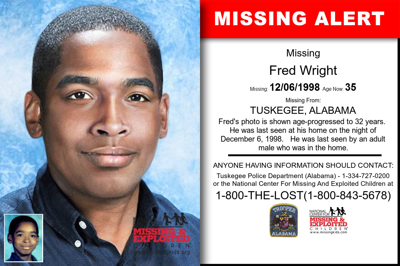 FRED_WRIGHT missing in Alabama