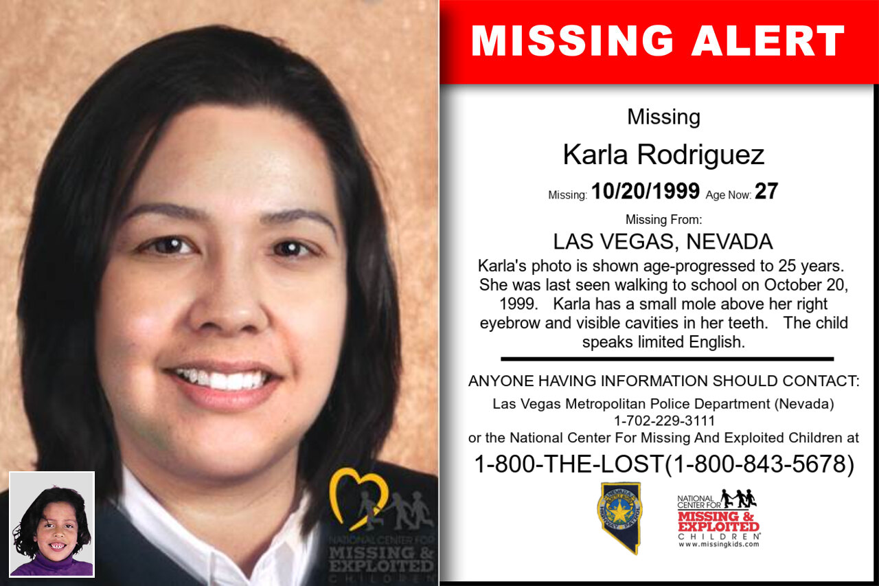 Karla_Rodriguez missing in Nevada