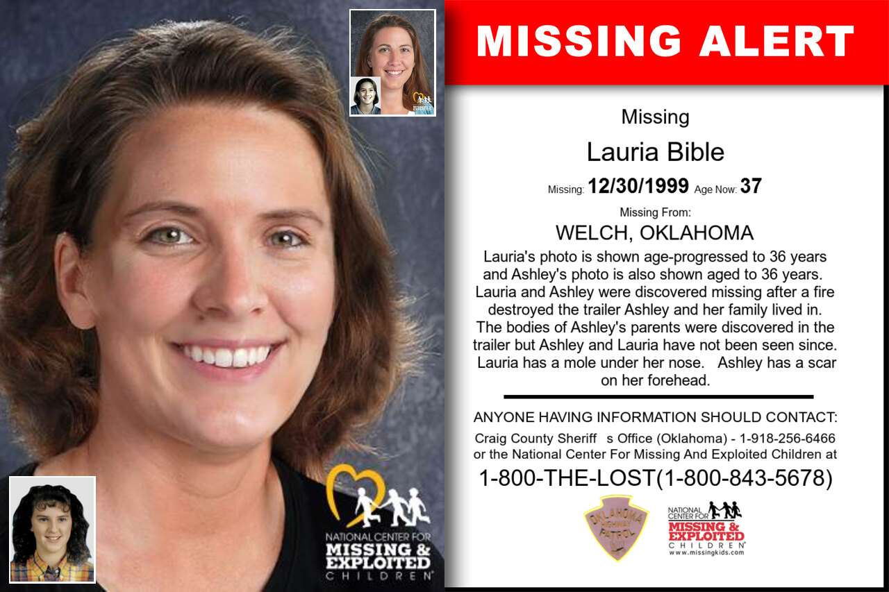 Lauria_Bible missing in Oklahoma