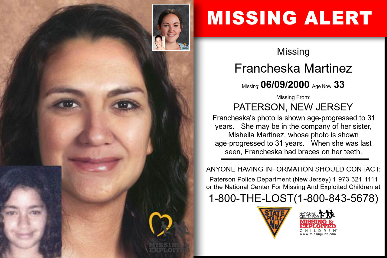 FRANCHESKA_MARTINEZ missing in New_Jersey