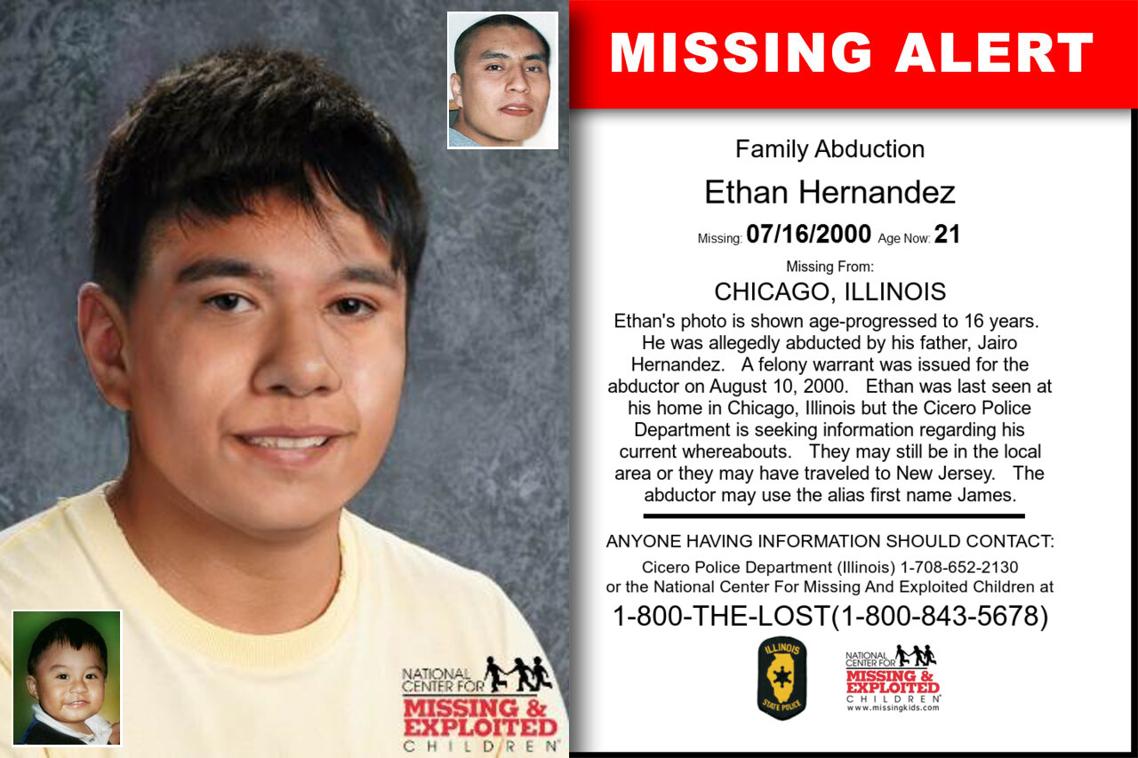 Ethan_Hernandez missing in Illinois