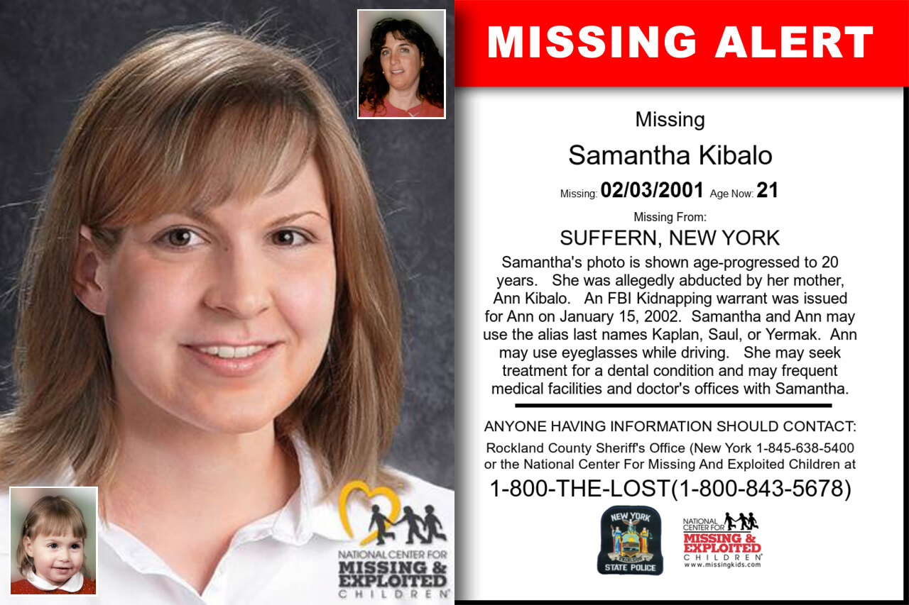 SAMANTHA_KIBALO missing in New_York