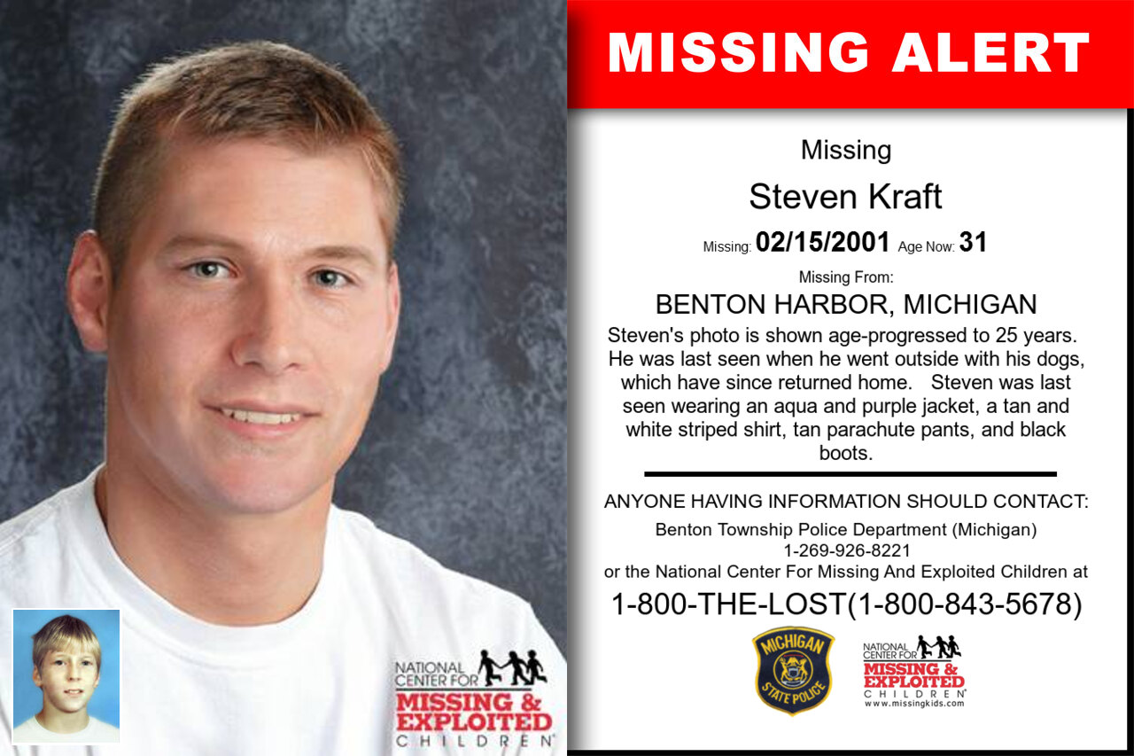 STEVEN_KRAFT missing in Michigan