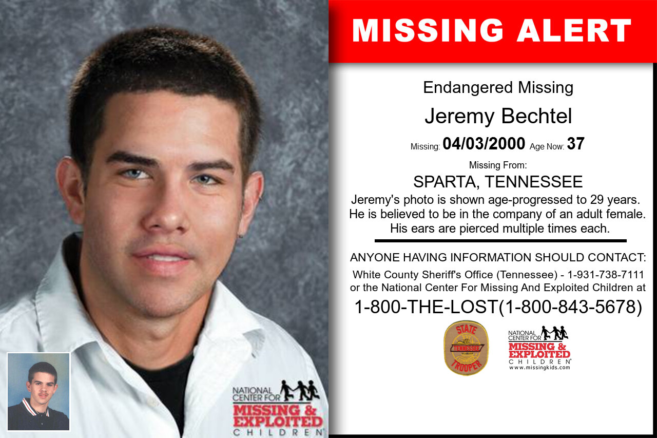 JEREMY_BECHTEL missing in Tennessee