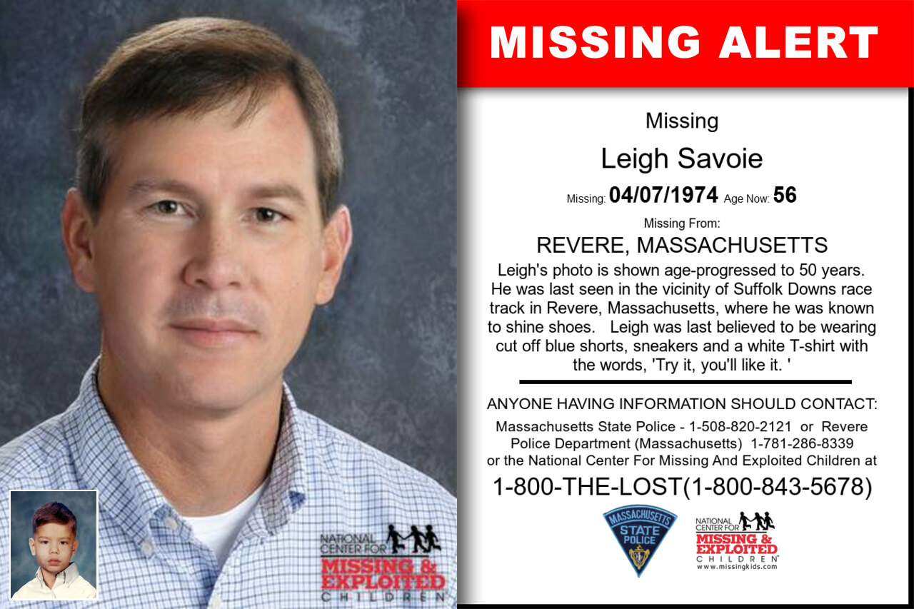 Leigh_Savoie missing in Massachusetts