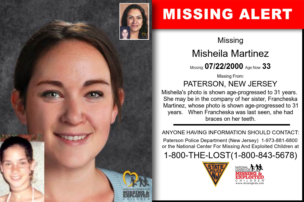 MISHEILA_MARTINEZ missing in New_Jersey