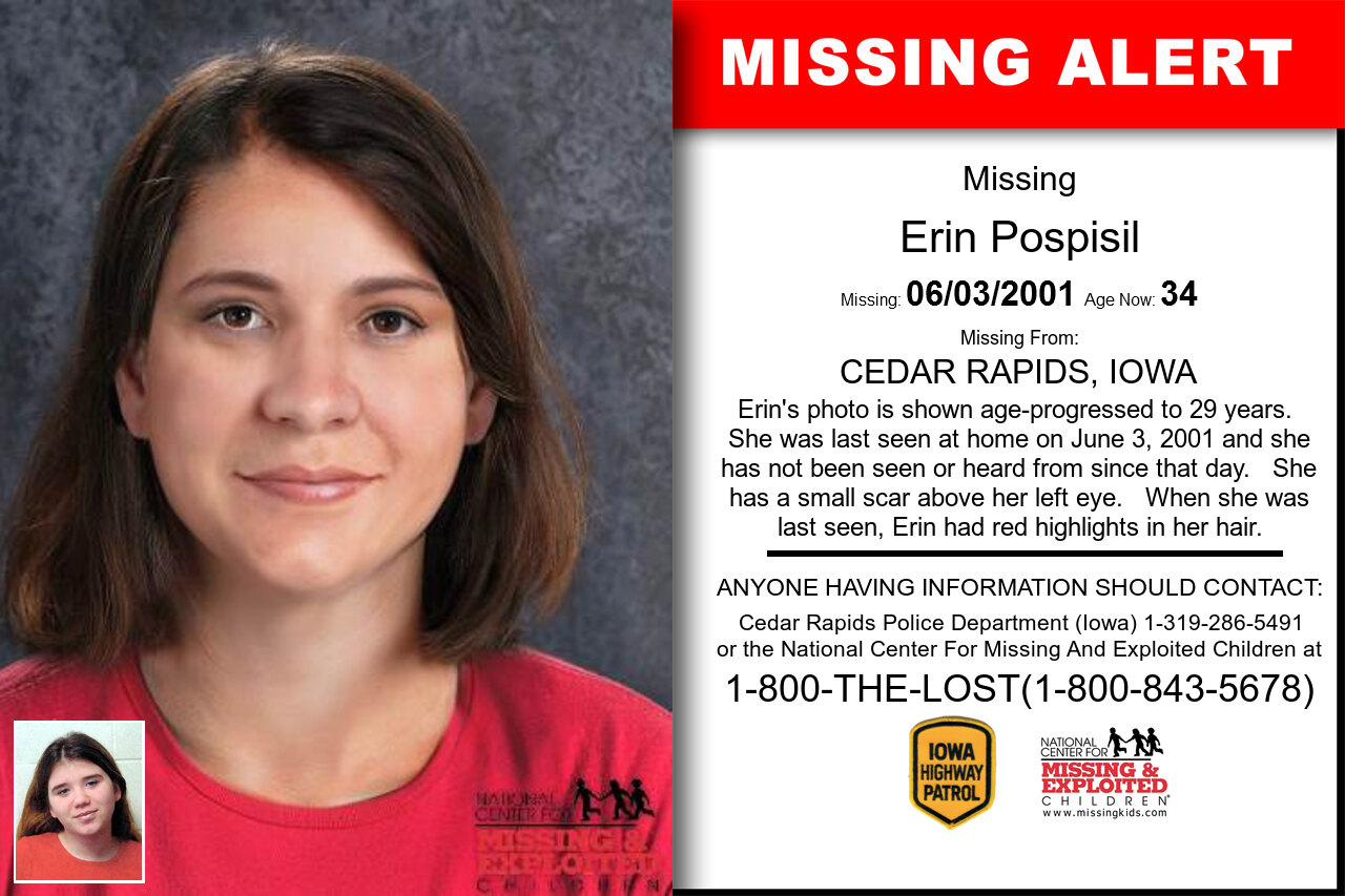 ERIN_POSPISIL missing in Iowa
