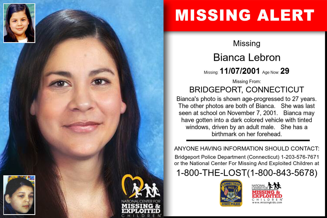 BIANCA_LEBRON missing in Connecticut
