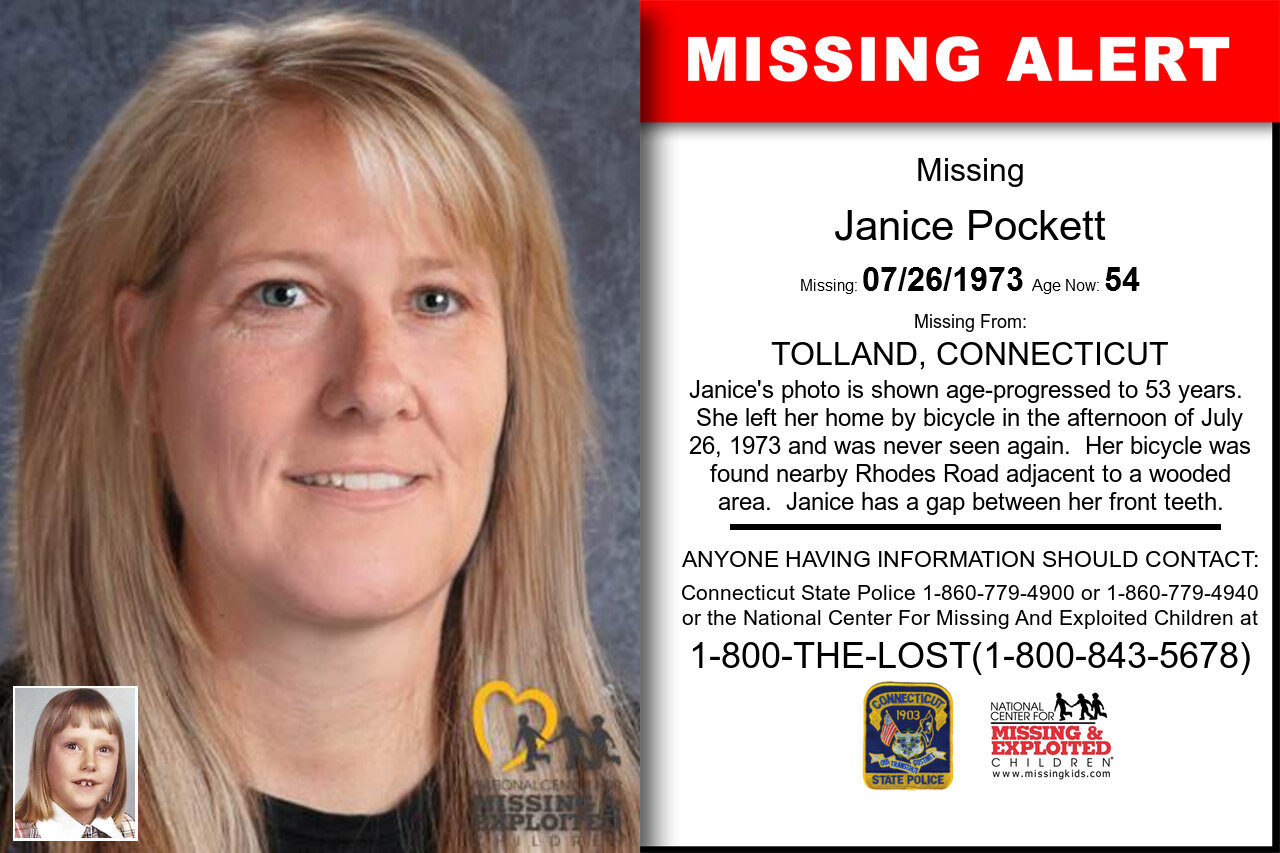 JANICE_POCKETT missing in Connecticut