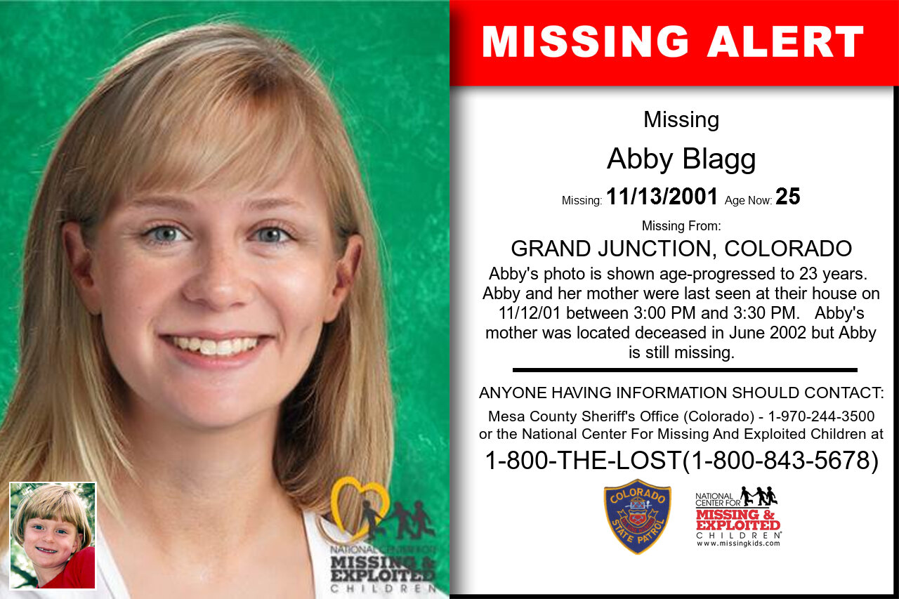 ABBY_BLAGG missing in Colorado
