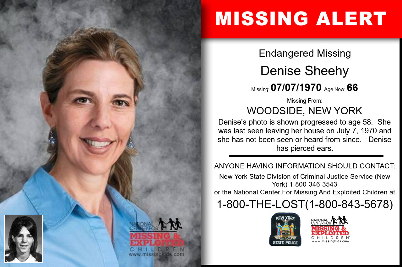 Denise_Sheehy missing in New_York