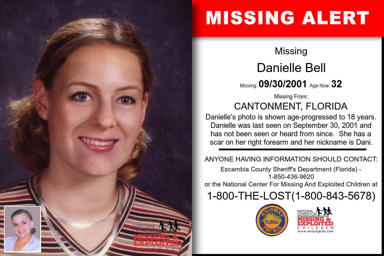 DANIELLE_BELL missing in Florida