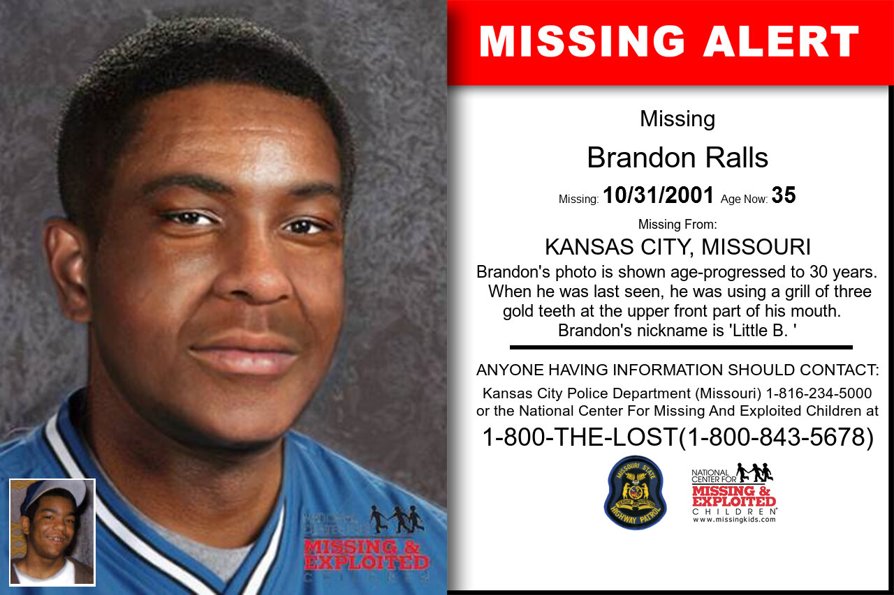 BRANDON_RALLS missing in Missouri