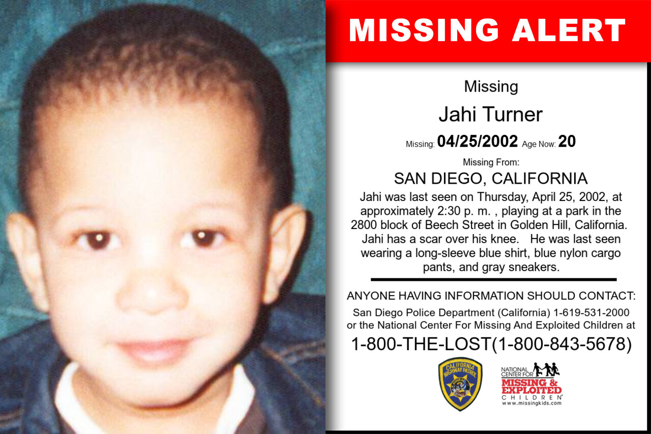 JAHI_TURNER missing in California