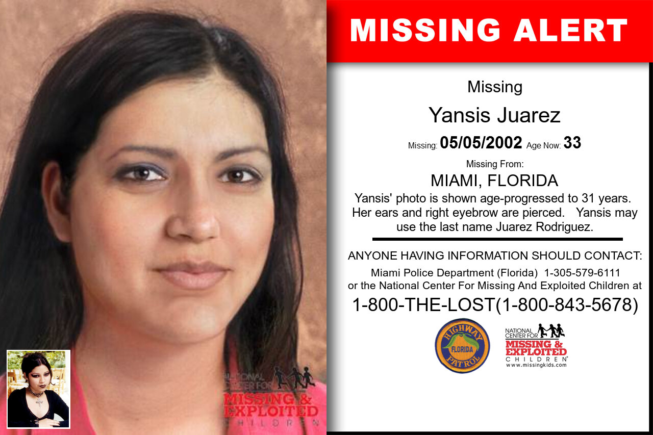 YANSIS_JUAREZ missing in Florida
