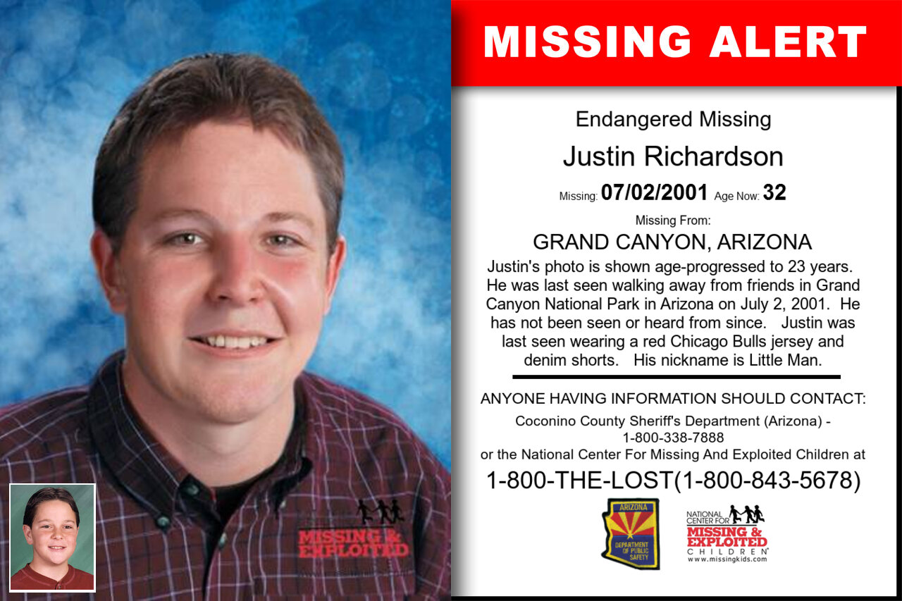Justin_Richardson missing in Arizona