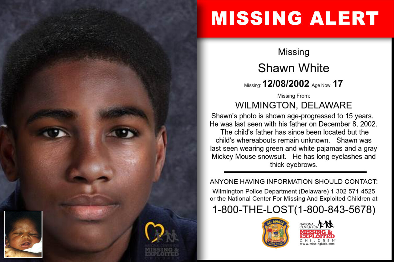 Shawn_White missing in Delaware
