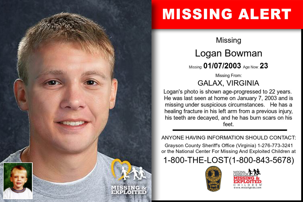 LOGAN_BOWMAN missing in Virginia