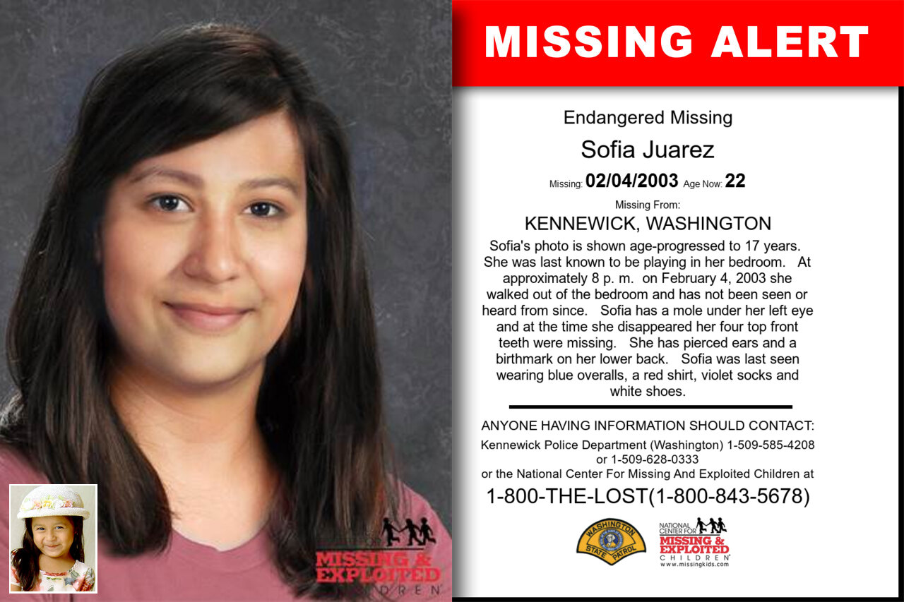 SOFIA_JUAREZ missing in Washington