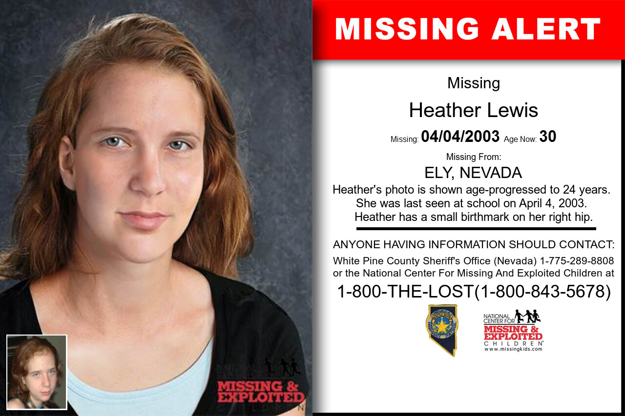 HEATHER_LEWIS missing in Nevada