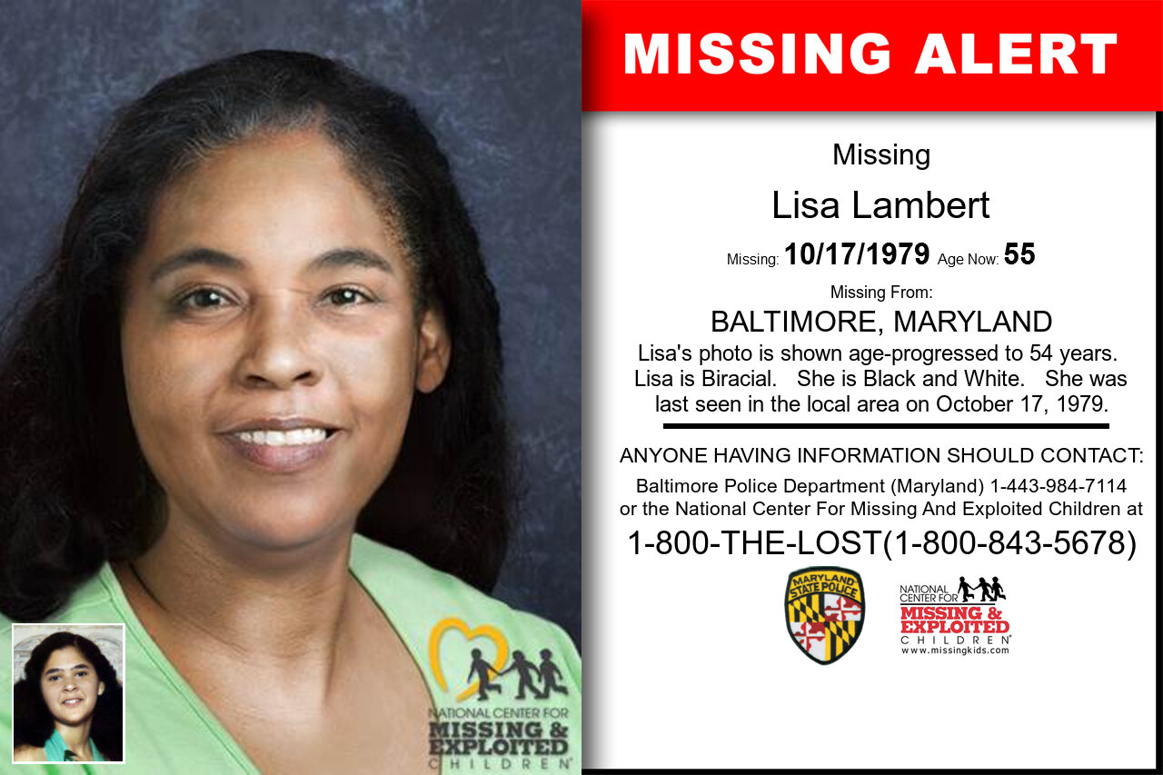 LISA_LAMBERT missing in Maryland