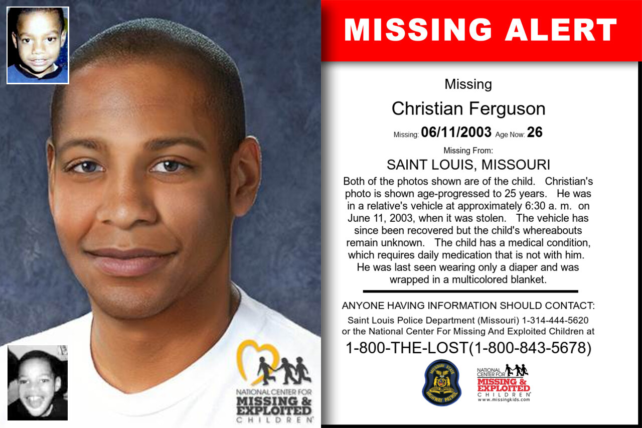 CHRISTIAN_FERGUSON missing in Missouri
